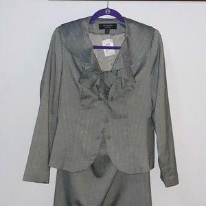 Larry Lavine   long Skirt Suit